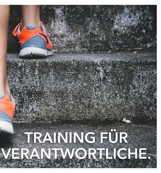 Training für Verantwortliche